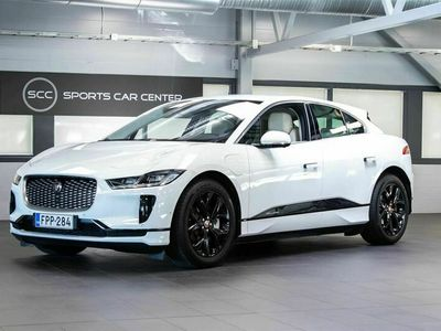 käytetty Jaguar I-Pace SE Tehdastakuulla & Varusteet! Drive- & Park-avustimet, Ilmajouset, Meridian®, Smart Key, Adapt. LED