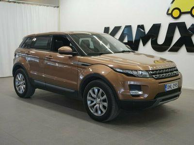 käytetty Land Rover Range Rover evoque 2,2 TD4 Pure Business Aut / Panorama / Bi-Xenon / Webasto kaukkarilla / P-kamera / Tutkat / Suomi-au