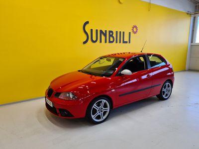 käytetty Seat Ibiza 1.8T FR 150hv **Juuri huollettu ja seuraava katsastus 15.3.2022**