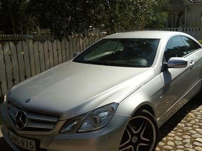 käytetty Mercedes E350 CGI BE Coupe A