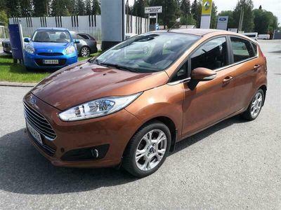 käytetty Ford Fiesta 1,0 EcoBoost 100hv PowerShift A6 Titanium 5-ovinen
