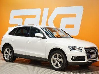 käytetty Audi Q5 3,0 V6 TDI 180 kW quattro S tronic ** S Line sport-paketti / Nahka-alcantara / Xenon plus / P.Tutkat