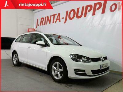 käytetty VW Golf Variant Highline 1,4 TSI 103 kW (140 hv) DSG-aut. - Navigointi - Adap. vakkari - *** J. autoturva