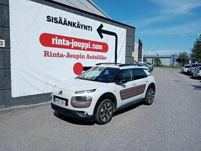käytetty Citroën C4 Cactus VTi 82 Shine Bright - Nahkasisustus, irrotettava vetokoukku, panorama-kattoikkuna, navigointi, peruutuskamera, moottorilämmitin+sisälämmitin