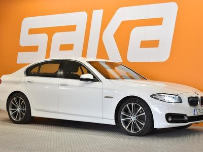 käytetty BMW 520 F10 TwinPower Turbo A Limited xDrive ** Dakota nahkapenkit / Ratinlämmitin / Sport-istuimet / LED-va