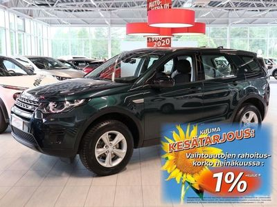 käytetty Land Rover Discovery Sport 2,0 TD4 150 PURE Aut