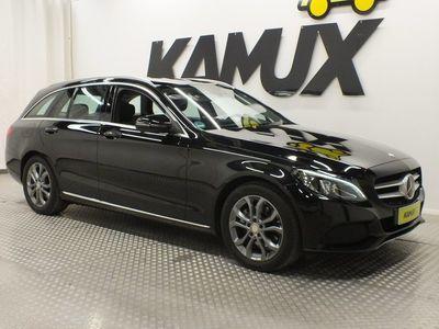 käytetty Mercedes C200 T d *PANO*LED*COMM-PLUS*AUTOMATIK*AHK*AMG*