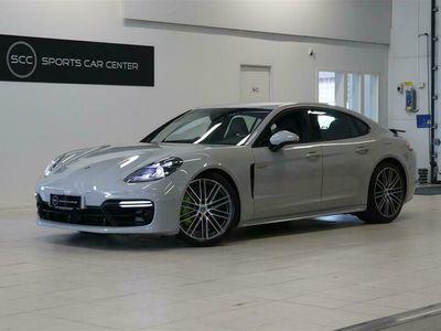 """käytetty Porsche Panamera 4 E-Hybrid Sport Design, Nelipyöräohjaus, BOSE, Active Cruise, 21"""", PDLS+, Sport pakoputkisto"""