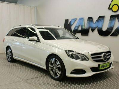 käytetty Mercedes E300 CDI T A Avantgarde / DTR+ / Webasto / Vetokoukku / ILS / Comand / harman kardon