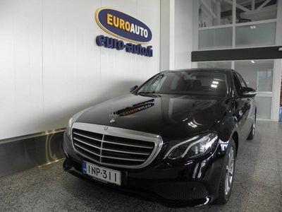 käytetty Mercedes E220 A Business SUOMI AUTO, LED HIGH PERFORMANCE, PERUUTUSKAMERA, BLUETOOTH, CRUISE, USB, RATTIVAIHTEET, HUOLLETTU