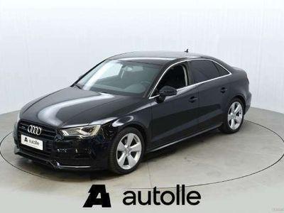 käytetty Audi A3 *TYYLIKÄS*Sedan Business Sport 2,0 TDI 110 Q (MY15 Tarkastettuna, Rahoituksella, Kotiin toimitettuna
