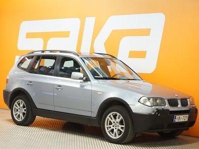 käytetty BMW X3 E83 3.0d aut ** Neliveto / Juuri katsastettu! / Ratin lämmitys / Nahat / Vetokoukku / Panorama **