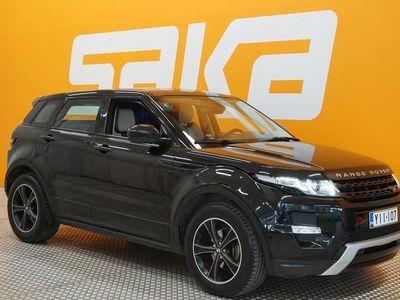 käytetty Land Rover Range Rover evoque 2,2 SD4 Dynamic Aut ** Suomi-auto / Nahkasisusta / Lämmitettävä tuulilasi / Muistipenkki / Lämmitett