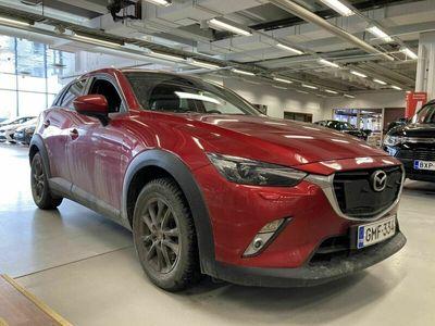 käytetty Mazda CX-3 2,0 (120) SKYACTIV-G Premium Plus 6MT EA3*LED*Navi*Peruutuskamera*Merkkihuollettu* *** J. autoturva