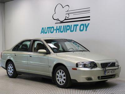 käytetty Volvo S80 2,4 125kw Classic ***Hyvin huollettu / Nahat / Vakkari ***