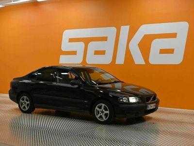 käytetty Volvo S60 S60 4DSEDAN 2.4 ** HUUTOKAUPAT.COM / Hihna tehty / Huoltokirja / Lohko / Ilmastointi **