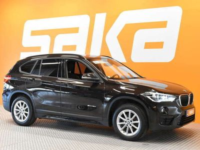 käytetty BMW X1 F48 sDrive18d A Edition Sport ** Merkkihuollettu / P.tutkat ja kamera / ALV / Cruise / Törmäystunnis