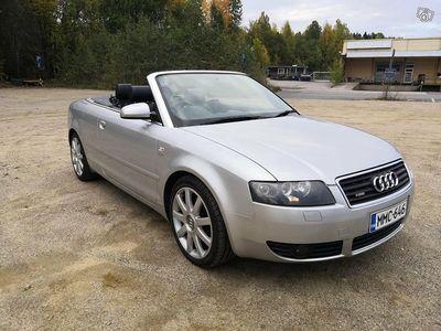 käytetty Audi A4 Cabriolet 3.0 aut - 04
