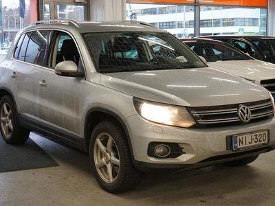 käytetty VW Tiguan Track & Style 2,0 TDI 103 kW BlueMotion 4MOTION DSG ** Suomiauto / P.a. lisälämm. kaukosäädöllä / Va