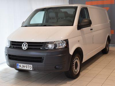 käytetty VW Transporter umpipakettiauto pitkä 2,0 TDI 75 kW