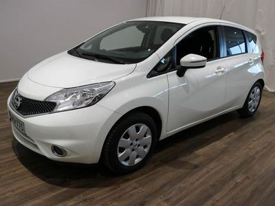 käytetty Nissan Note 80 Acenta Plus 5M/T E6 **** Korko 0,9% + min. 1500 EUR takuuhyvitys ****