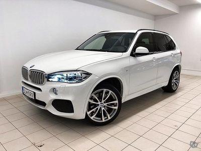 käytetty BMW X5 F15 xDrive40d 313HV, M-Sport, Istuintuuletus, HUD, LED-ajovalot, Driving Assistant Plus, Koukku