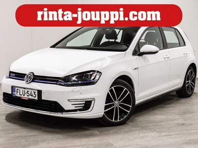 käytetty VW Golf GTE Plug-In Hybrid 150 kW (204 hv) DSG-automaatti 4-ovinen - Suomi-Auto, Led ajovalot, Webasto,