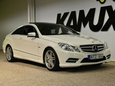 käytetty Mercedes E250 Coupé | AMG | Panorama | Navi | Keyless