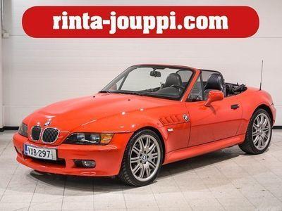 käytetty BMW Z3 1.9 Roadster 2d - Punaista nostalgiaa ja tuulentuiverrusta korvissa!