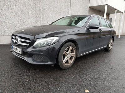 käytetty Mercedes C200 d T A Premium Pro - Sport-penkit, tutkat, suomi-auto
