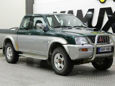 käytetty Mitsubishi L200 Club Cab 2,5 TD 4WD GL ABS / Suomi-Auto / Vetokoukku / Lohkolämmitin / Huoltokirja /