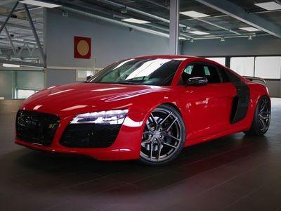 käytetty Audi R8 Coupé 5,2 V10 FSI quattro S tronic, Recaro-istuimet, F1-pakoputkisto, Bang&Olufsen, Carbon Sigma