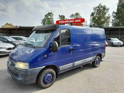 käytetty Fiat Ducato 11 2,0 JTD 2850 7,5 m3 van PA - Juuri huollettu / Jakohihna vaihdettu 215 tkm kohdalla / Rahoitus /