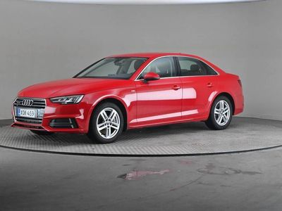 käytetty Audi A4 Sedan Bsn Comf Sline E 2,0TFSI 185 Q Stronic -Matrix LED, VIrtuaalimittaristo yms.-