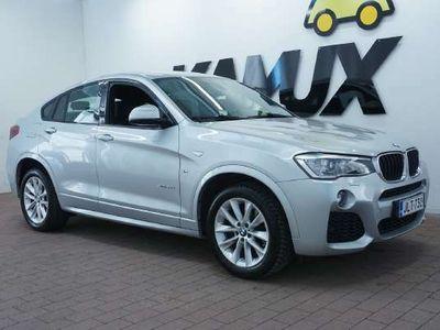 käytetty BMW X4 F26 xDrive20d A M Sport / Bi-Xenonit / Professional Navi / Vetokoukku / Tutkat