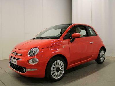 käytetty Fiat 500 1,0 70hv Hybrid MT Lounge - Kevättä rinnassa!, Tehdastakuu 3v / 100tkm!