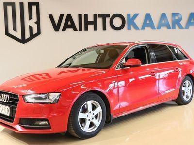 käytetty Audi A4 Avant Bsn Sport 2,0 TDI cleanD 110 Kw # Webasto, Xenon, Bluetooth, Pys.tutkat, Sporttipenkit, Suomi-