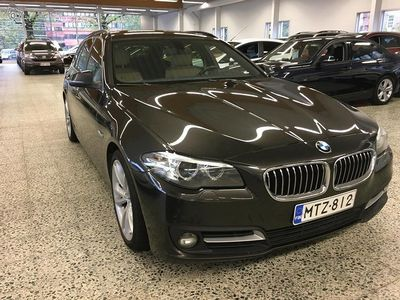 "käytetty BMW 520 520 F11 Touring d A Business Exclusive Edition *Suomi-auto,""Sport-Nahat,-Exlusive!"