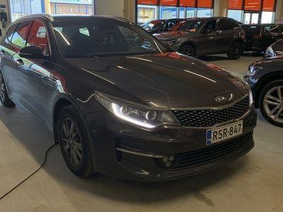 käytetty Kia Optima 1,7 CRDi ISG EX SW DCT A/T ** 1-om. Suomi-auto / Webasto / Navi / P. kamera / Kaistavahti **