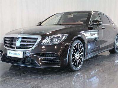käytetty Mercedes S560 4Matic L AMG, Ruby Black, Exclusive, Nappa, 360 kamerat, Burmester, 1