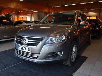 käytetty VW Tiguan Sport & Style 2,0 TDI 103 kW, Tiptronic-autom. 4MOTION ** Suomi-auto / Webasto / Navi / Tutkat / Kou