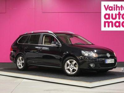 käytetty VW Golf Variant Highline 2,0 TDI 103 kW (140 hv) DSG-automaatti *KK erä 80e alkaen* *Käsiraha 0e* #Suomi-aut