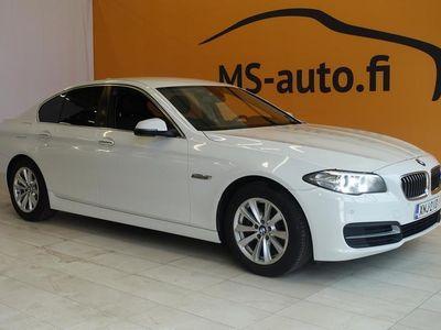 käytetty BMW 520 520 F10 Sedan d TP A Ltd xDrive Edition #Merkkihuollettu #Ratinlämmitin #Neliveto #Bluetooth #Alpineweiss3 #AUX