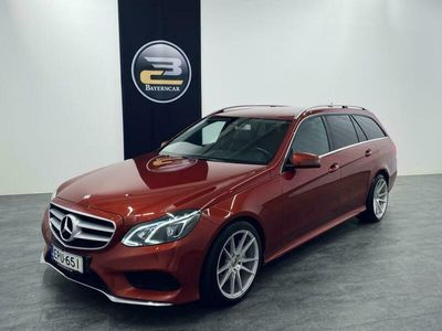 käytetty Mercedes E350 CDI BE T A AMG-STYLING AIRMATIC, LED ILS, HARMAN/KARDON &