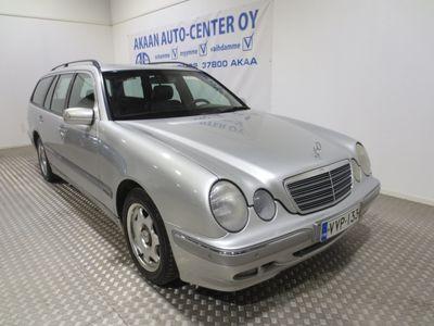käytetty Mercedes E220 CDI Elegance STW A 2-hengen P-Auto katsastettu 10/2020