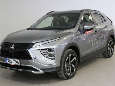 käytetty Mitsubishi Eclipse Cross 2.4 PHEV Intense 4WD - Tähän autoon rahoituskorko 0%!