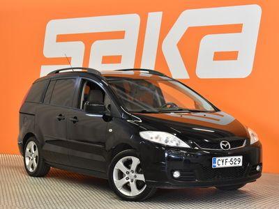käytetty Mazda 5 MPV 1,8 Elegance 5MT 5d H53 ** 7-paikkainen / Automaattinen ilmasointi / Lohkolämmitin / Vetokoukku **