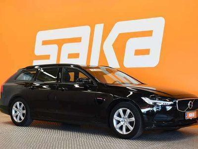 käytetty Volvo V90 D3 AWD Business aut ** Webasto / Merkkihuollettu / Navi / Adapt.vakkari / Pilot Assist / Koukku **