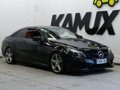 käytetty Mercedes E250 CDI BE Coupé A AMG / Ortoped istuimet / Nahat / Navi / Hienot kesävanteet