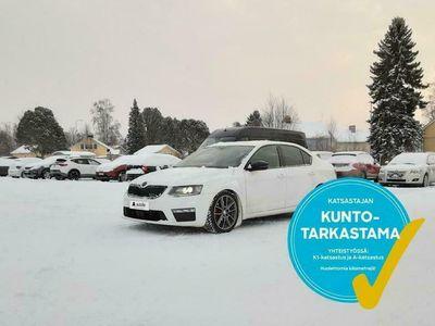 käytetty Skoda Octavia 2,0 TDI 184 4x4 RS DSG-aut ### NORMAL FRIDAY -hinta! ### ** WEBASTO / 1-OM Suomi-auto / Bluetooth **